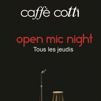 Open mic night Caffe cotti
