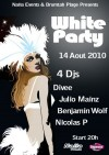 Soirée clubbing Official White Party 2010 by Naiia Events Samedi 14 aout 2010