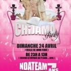 Soirée clubbing Chijama party by Ndateam Dimanche 24 avril 2011