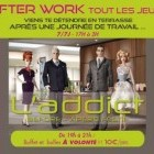 After Work AFTER-WORK @ L'ADDICT Jeudi 21 juillet 2011