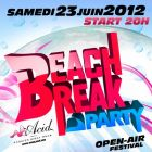 Festival Beach Break Party 4e Edition Samedi 23 juin 2012