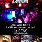 After Work AFTER WORK @ SENS Jeudi 12 avril 2012