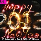 Soirée clubbing Happy New Year Lundi 31 decembre 2012