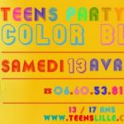 Before Teens Party Lille - Color Block Samedi 13 avril 2013