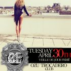 Soirée clubbing Be Glam, Be Yourself Mardi 30 avril 2013