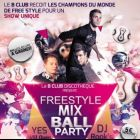 Soirée clubbing freestyle mix ball party Samedi 14 decembre 2013