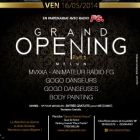 Soirée clubbing GRAND OPENING - SANCY EVENTS HOUSE Vendredi 16 mai 2014