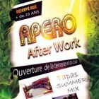 After Work  APERO AFTER WORK  Jeudi 14 aout 2014
