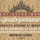 After Work Art After Work Mercredi 15 octobre 2014