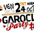 Concert Garoclub Party  Vendredi 24 octobre 2014