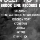 Soirée clubbing FROM DEEP TO TECH#2 Spécial Brook Line Records Turns One w/ S T O N E K • Wolfskind • Kattar • Ofenb Vendredi 17 octobre 2014