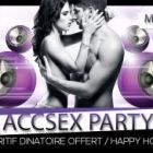 Soirée clubbing ACCSEX PARTY  ACCESS BAR CLUB Cannes Lundi 24 Novembre 2014