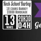 Concert HERE I COME #12: GENERAL LEVY, BIG RED AND MORE - 13/03/2015 – ROCK SCHOOL BARBEY @ BORDEAUX Vendredi 13 mars 2015