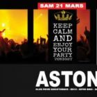 Soirée clubbing Keep Calm And Enjoy Your Party Tonight Samedi 21 mars 2015