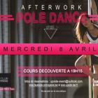 After Work Afterwork Pole dance by Upside Mercredi 08 avril 2015