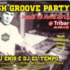 After Work CRUSH GROOVE PARTY Jeudi 16 avril 2015