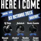 Concert HERE I COME #14 Vendredi 02 octobre 2015
