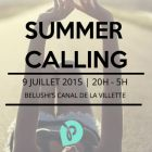 After Work Summer Calling - Afterwork Discovery #7 Jeudi 09 juillet 2015