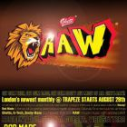 Clubbing Ghett-RAW! - August Bank Holiday Saturday Samedi 29 aout 2015