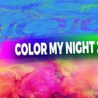 Color my night 2015 by andy Heart