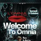 Soirée clubbing Welcome to Omnia, Act 2 by Moh Gm Samedi 03 oct 2015