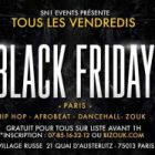 Soirée clubbing BLACK FRIDAY PARIS Vendredi 11 dec 2015