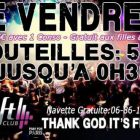 Soirée clubbing THANK GOD IT'S FRIDAY Vendredi 29 janvier 2016