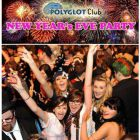 Soirée clubbing Nouvel An Polyglot Club 2016 - NEW YEAR's Party!! Jeudi 31 decembre 2015