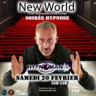 Soiree hypnose - New World - Evreux