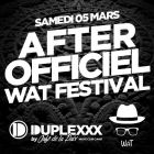 After (6H-Midi) After wat@le duplexxx night club Samedi 05 mars 2016