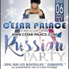 Russian party  /   back to the 80's - César Palace - Epinal