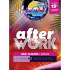 After Work SOIREE CENTRE AQUATIQUE AQUALONE Samedi 12 mars 2016