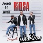 Concert RIDSA EN SHOWCASE Jeudi 14 avril 2016
