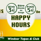 Happy hours Windsor club