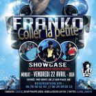Concert Franko en showcase  Vendredi 22 avril 2016