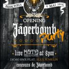 Opening jägerbomb party - Australian Bar Café OZ - Montpellier