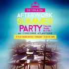 Afterwork la voile parisienne ( terrasse, rose, buffet ) - Concorde Atlantique - Paris