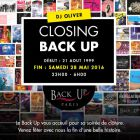 Closing back up / fermeture definitive - Back Up - Paris
