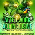 Afterwork mojitos all inclusive (best after work in paris) - 4 vents - Paris