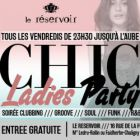 Chic ladies party @ le reservoir - Réservoir - Paris