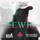 Friday summer session by dj lewis - Palais Maillot - Paris