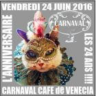 Before Before Anniversaire 24 ans@Carnaval Cafe Vendredi 24 juin 2016