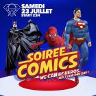 Soirée comic's - Cellier Saint Vincent - Bethon
