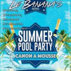 After Work SUMMER POOL PARTY · Organisé par Le Banana's Vendredi 29 juillet 2016
