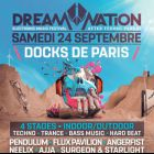 Festival Dream Nation - After Techno Parade Samedi 24 septembre 2016