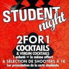 Before Student Night Mardi 27 septembre 2016