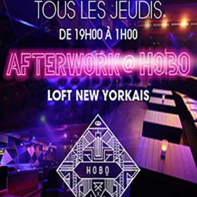 After Work AFTERWORK @ HOBO CLUB CHAMPS ELYSEES Jeudi 29 septembre 2016