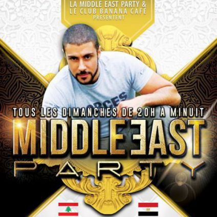 Before Middle East Party Dimanche 18 septembre 2016
