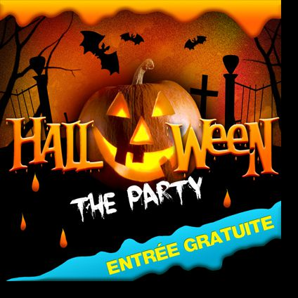 Soirée clubbing HALLOWEEN THE PARTY  Lundi 31 octobre 2016