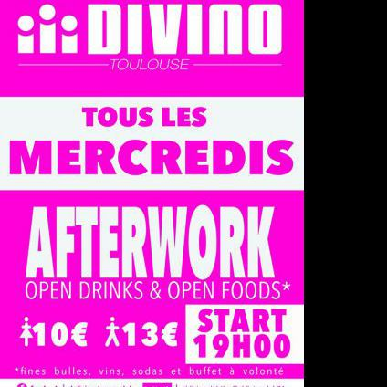 After Work El Divino Mercredi 02 Novembre 2016
